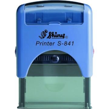 Shiny S-841 Custom-Made Self-Inking Stamp (26 x 10mm)