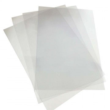 PVC Binding Cover 0.16mm A4 100'S Clear