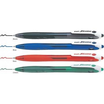 Pilot Rexgrip Ballpoint Pen 0.7mm Retractable