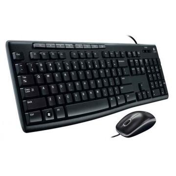 Logitech MK200 USB Media Wired Combo (Keyboard & Mouse)