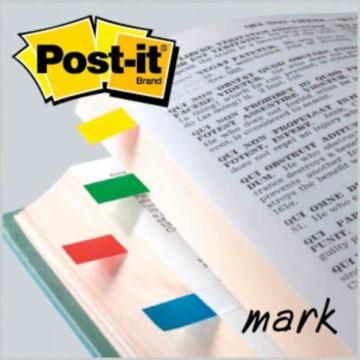 """3M Post-it Flags 683-4 (0.5"""" x 1.7"""") 4-Colour"""