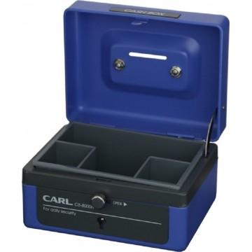 "Carl Cash Box (104 x 125 x 74mm) CB-8000N 5"""