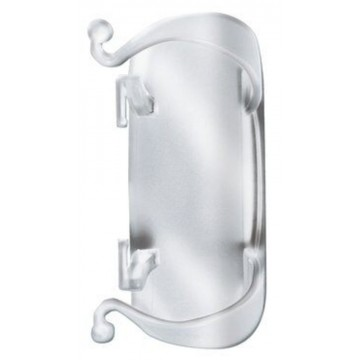 3M Command Damage-Free Hanging Clear Cord Organiser Large 2'S