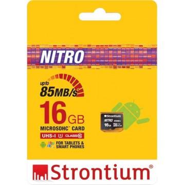 Strontium New Nitro MicroSD Memory Card 16GB