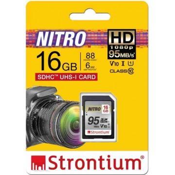 Strontium Nitro Q MicroSD Memory Card 16GB