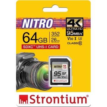 Strontium Nitro Q MicroSD Memory Card 64GB