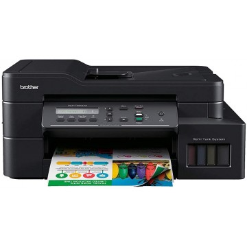 Brother 3-in-1 Colour Multi-Function Ink Tank Printer DCP-T820DW - Ready Stocks!