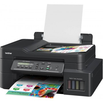 Brother 3-in-1 Colour Multi-Function Ink Tank Printer DCP-T820DW