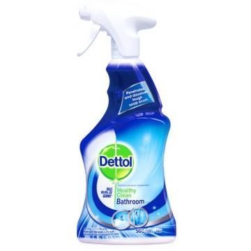 Dettol Antibacterial Healthy Clean Bathroom Trigger Spray 500ml