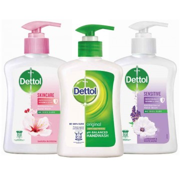 Dettol Antibacterial Liquid Hand Wash 250ml
