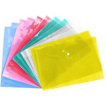 1-Button Folder A4 Translucent