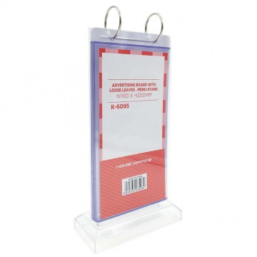 HnO Menu Stand - 6 Pages 100mm x 200mm