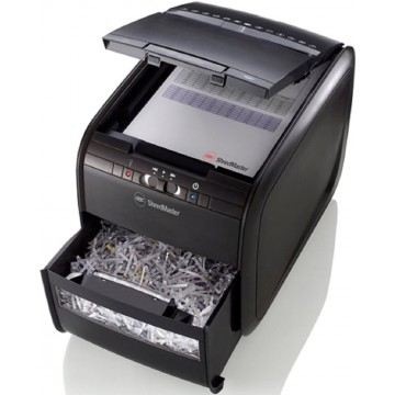 GBC Autofeed Shredder Auto+60X Cross Cut 60 Sheets