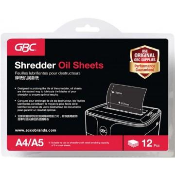 Shredder Oil Sheets 12'S