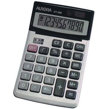 Aurora Adjustable Calculator (168 x 105 x 31mm) DT260 10 Digits