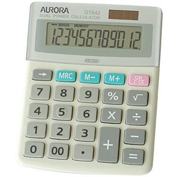 Aurora Desktop Calculator (134 x 107 x 34mm) DT642 12 Digits