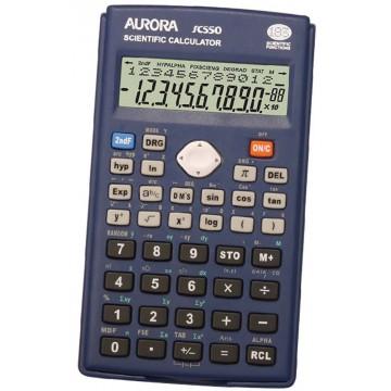 Aurora Scientific Calculator (133 x 76 x 15mm) SC550 10+2 Digits