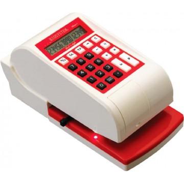 Biosystem 3-Currencies Cheque Writer iCheque-4 (S$, RP, US$)