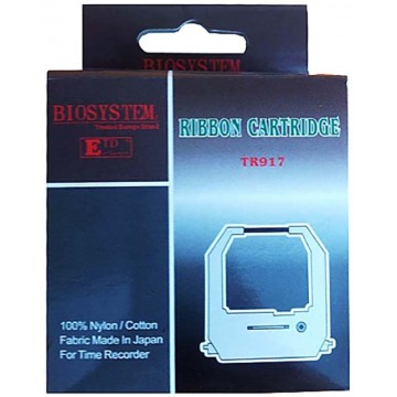 Biosystem Time Recorder Ribbon Cartridge TR917