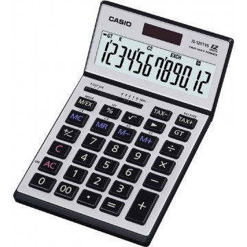 Casio Adjustable Heavy-Duty Calculator (197 x 107 x 10mm) JS-120TVS 12 Digits