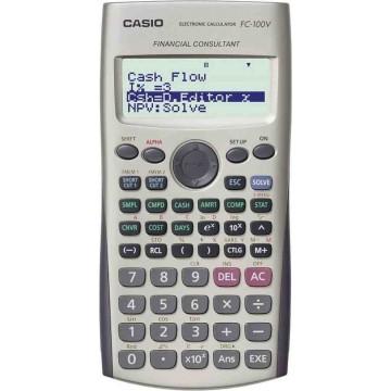 Casio Financial Calculator FC-100V 10+2 Digits