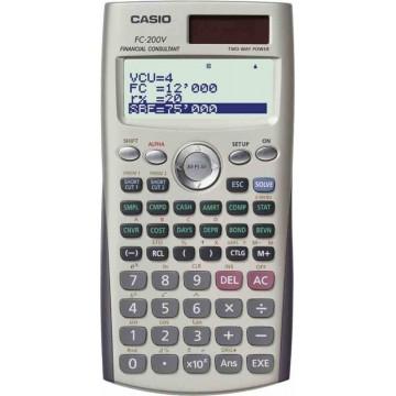 Casio Financial Calculator FC-200V 10+2 Digits