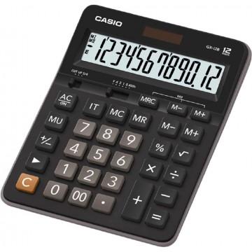 Casio Desktop Calculator (207.5 x 159 x 34.3mm) GX-12B 12 Digits