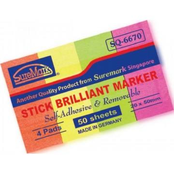 SureMark Stick Brilliant Pad (20 x 50mm)