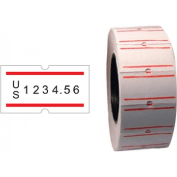 SureMark Price Label Roll 10'S (SQ-8800, MX-5500P)