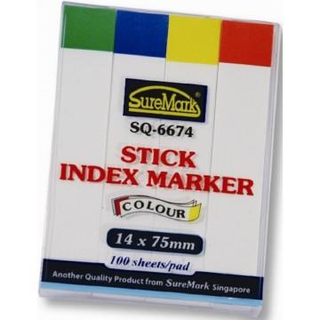 SureMark Stick Index Marker SQ-6674 (14 x 75mm)