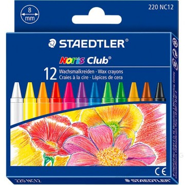 Staedtler Noris Club Wax Crayon 12'S