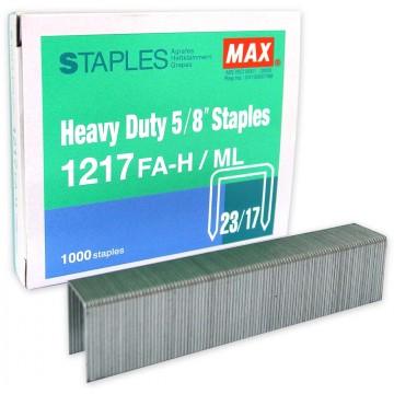 "Max Heavy Duty 5/8"" Staples 1217FA-H/ML"