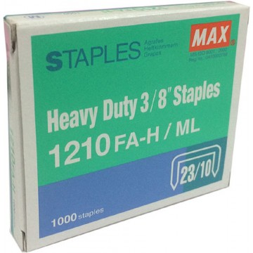 "Max Heavy Duty 3/8"" Staples 1210FA-H/ML"