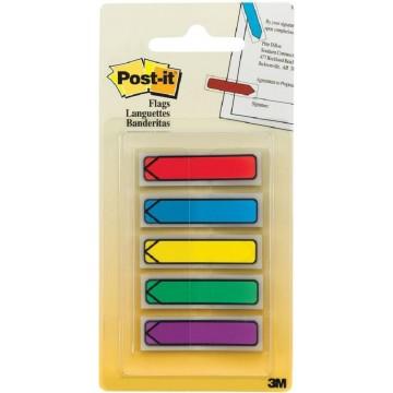 """3M Post-it Flags 684-ARR1 (0.5"""" x 1.7"""") Arrow 5-Colour"""