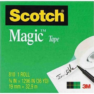 3M Scotch Magic Tape (19mm x 32.9m)