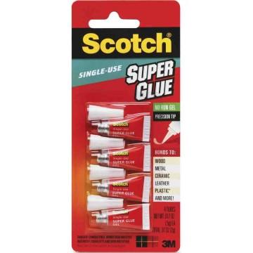 3M Scotch Single-Use Super Glue AD119 (Gel) 4'S