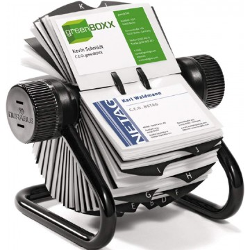 Durable Visifix Rotary File (400 Cards)