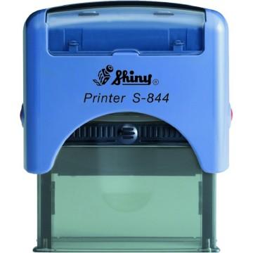 Shiny S-844 Custom-Made Self-Inking Stamp (58 x 22mm)