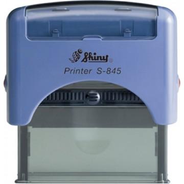 Shiny S-845 Custom-Made Self-Inking Stamp (70 x 25mm)