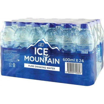 Ice Mountain Pure Drinking Water 24'S 600ml