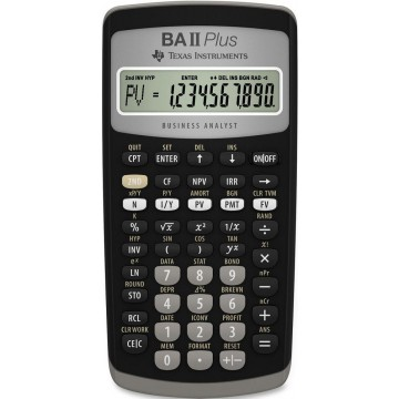 Texas Instruments Financial Calculator BA-II-Plus