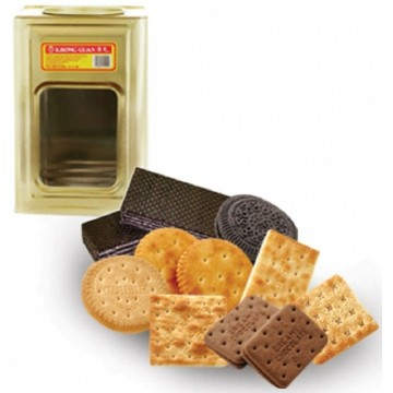 Assorted Biscuits Tin (150 Packs)