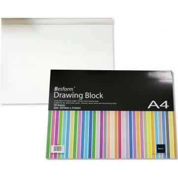 Besform Drawing Block A4