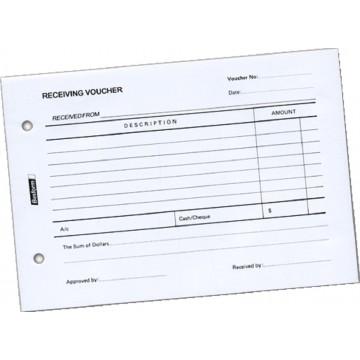 Receiving Voucher Pad (100 Sheets)