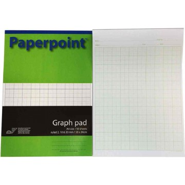 Paperpoint Graph Pad 50'S A4