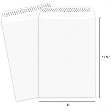 White Envelope C4 (A4) Peel & Seal 250'S