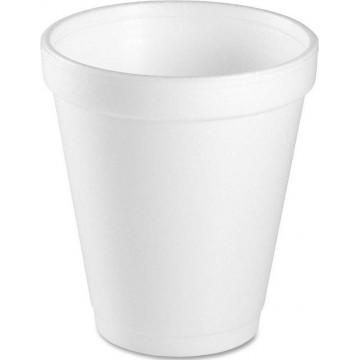 Foam Cup 25'S 8oz