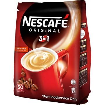 Nescafe 3-in-1 Original Instant Coffee 50'S 19g