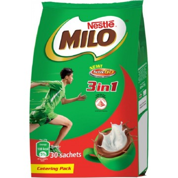 Milo Activ-Go 3-in-1 Powder 30'S 27g