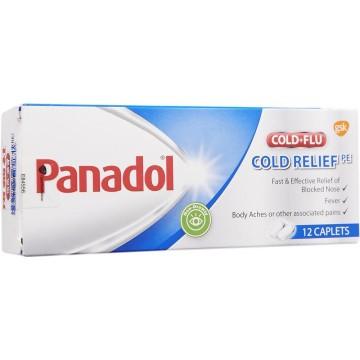 Panadol Cold+Flu Cold Relief PE 12'S